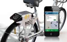 smart bike:once you subscribe to the service, the app will tell where the closest sharable bike is and will allow you to reserve