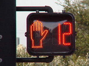 Pedestrian countdown timers are an effective technology that many take for granted. They allow for safer pedestrian activity!