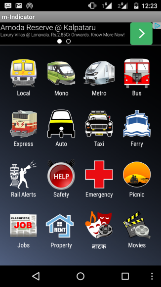 Mindicator is a mobile app for all public transport in Mumbai ( includes, bus, local trains, express trains, autorikshaw, taxi)
