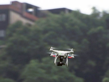Using drones to search for mosquitoes habitats to minimize the spread of dengue fever.