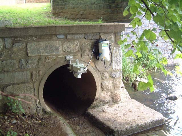 Buenos Aires: Drainage flow data logger