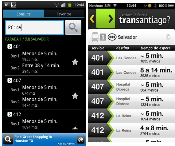 To get to know when does the next bus come I use an app - which works because