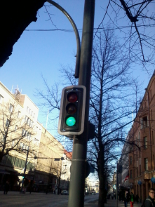 Traffic Light Sensor for city wide bus tracking, traffic light prioritisation and also emergency services pass through