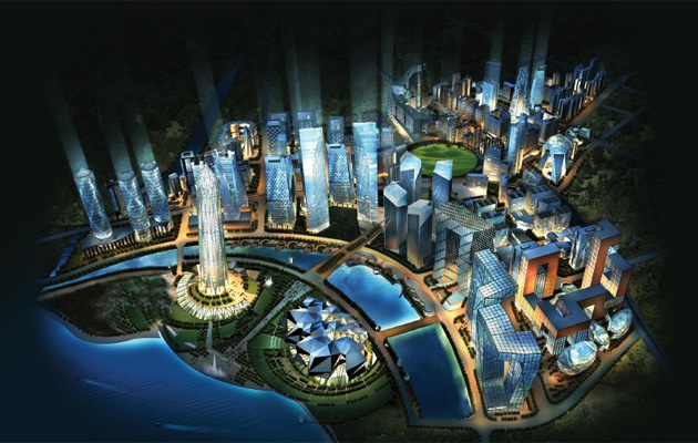 Upcoming smart city in Gujarat