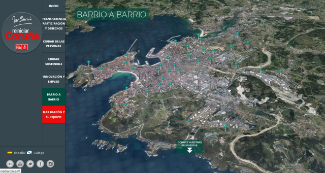 A Coruña, (Spain), claims to be a smart city (httP://www.smartcoruna.es). New projects will improve its smartization.