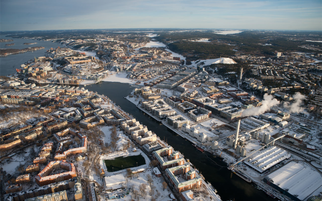 Stockholm, Hammarby thermal power station.