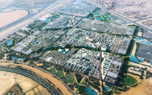 Masdar was designed to be a low carbon and Eco-friendly city.