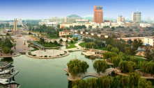 Tangshan Caofeidan is an Eco-friendly city in China.  It is designed to be energy efficient.