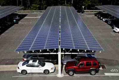 solar panel carports.