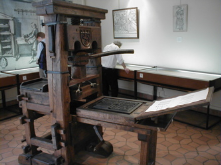 The printing press allowed city governments and citizens alike to publish notices, bills, and pamphlets to communicate better.