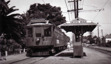 The streetcar allowed people to live in newly developed communities outside cities and commute into the city for work.