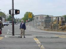 Signalized crosswalk