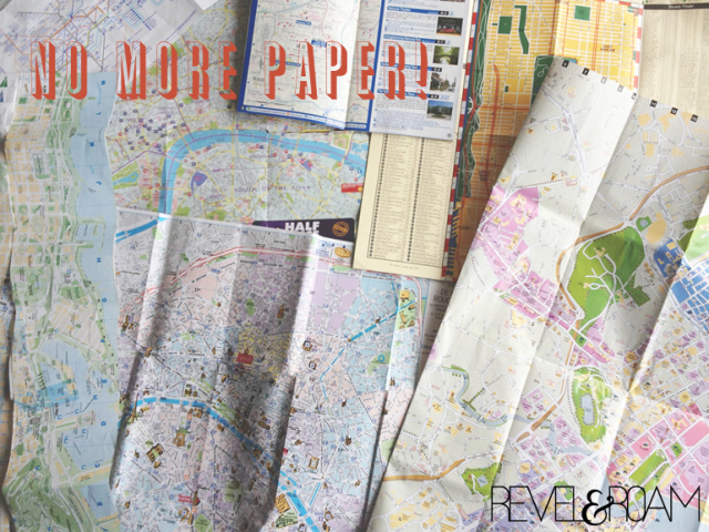 printed maps