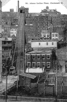 The once-existent inclines of cities like Cincinnati