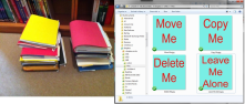 Tracking of files, creating duplicating & Trash the files has become easier.