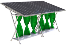 Modular renewable energy for best suited to residential