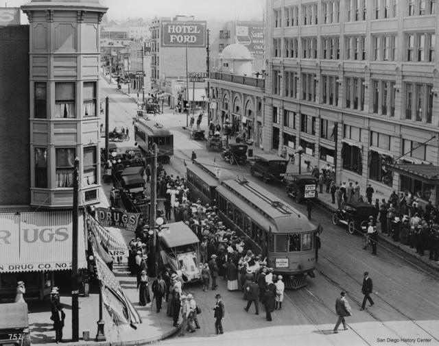 Trolley Cars and other forms of public transportation entirely changed peoples interactions with cities as they came about