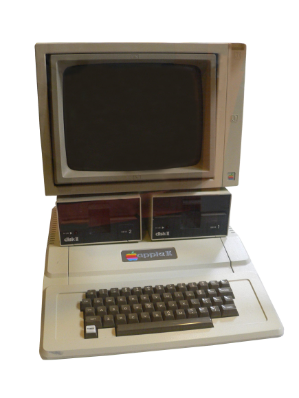 AppleII in 1981.