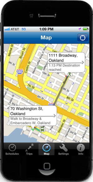 The maps app preinstalled on my iphone is definitely one of my favorite and most used apps.