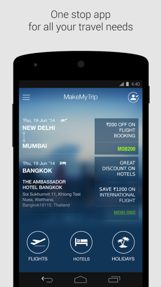 I use this app much to book & plan my flight travel