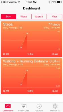 Health App is my favorite.