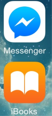 IBook and Messenger Apps