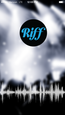 Riff music app to share up to 30 seconds of a song, with picture or video option with friends
