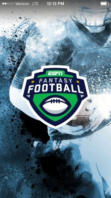 Espn Fantasy football app to follow my fanasty team each fall