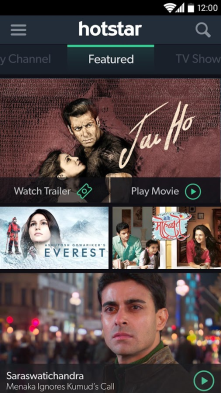 This is new app launched to Watch the latest TV Shows, Movies and LIVE sports on your Android device completely free of charge
