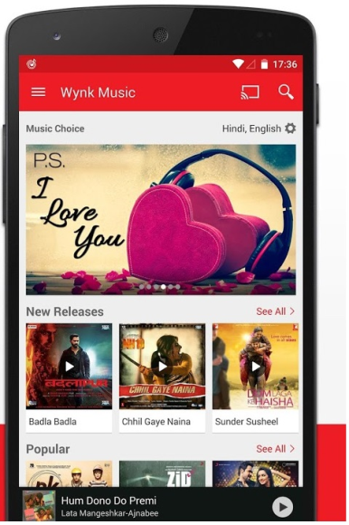 Wynk is the music app for every mood! From Rahman to Rihanna,