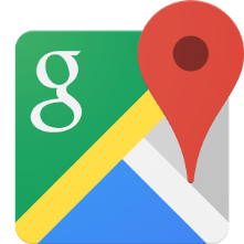 Google Maps is very useful. It contains all transportation info, and it shows the direction that you are facing, with a GPS.