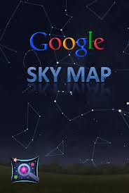 This app shows you a map of the stars.