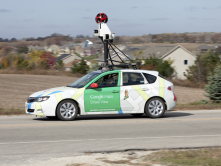 Google maps sensor car