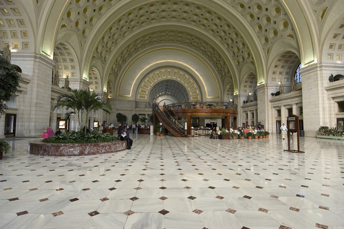 Washington DC's Union Station will become 100% powered by wind energy!