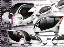 "those are electric vehicles, designed by Tom Kent, an idea for sustainable mobility.<br/>this is the link: http://gas2.org/2010<wbr/><span class=""wbr""></span>/05/14/cell-conc"
