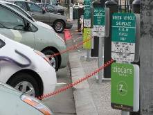 San Francisco offers free charging for electric vehicles.