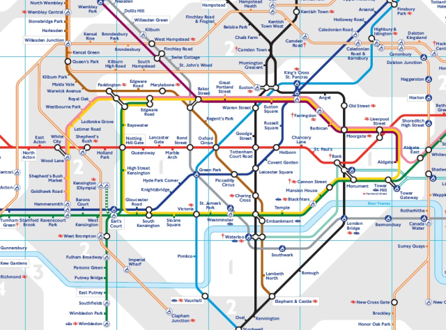 tube map bringing us closer