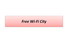 My idea is to make a city with a free high speed Wi Fi for learning and IT technology or whatever. No Extraordinary Picture yet.