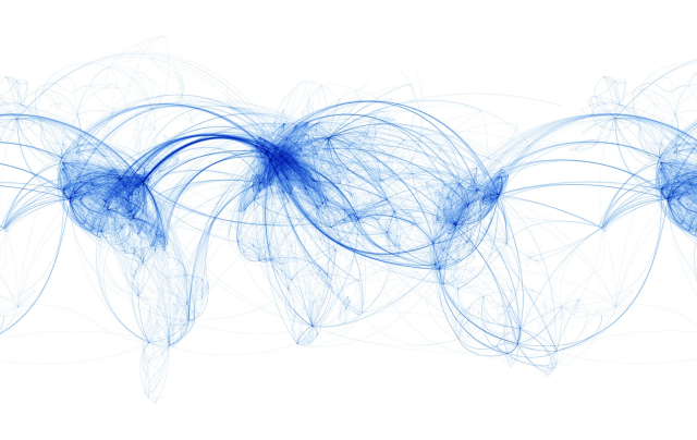 World Airline Map..