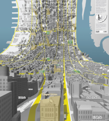 Jack Schulze and Matt Webb created these amazing maps of NYC in 2009. Excited to see the future of cartography as 3D technology advances!