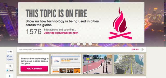 Creating a global dialogue around cities and technology!... http://technicity.osu.edu