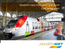 The future of mass public transportation at Jakarta, I hope it can solve the trafficjam problem in my city !