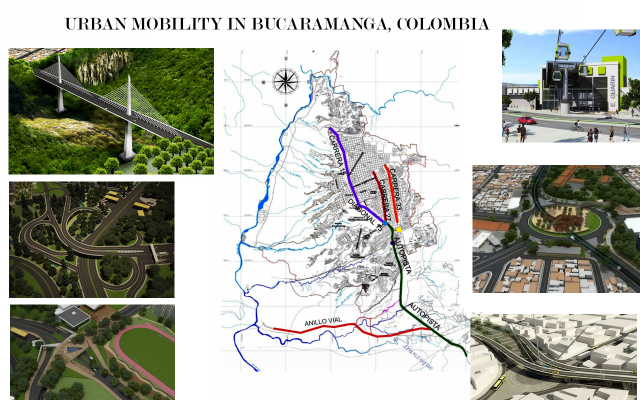 A plan that will reduce the traffic in Bucaramanga, Colombia.