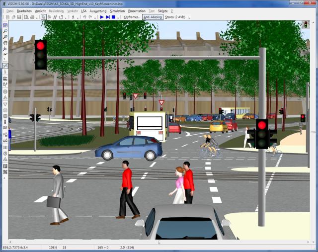 Software for transport simulation.
