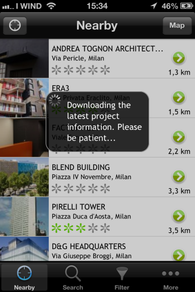 Explore modern architecture with an app!