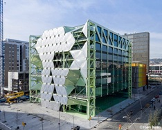 Media-TIC building, an example of building for future smart cities.
