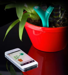 A Bluetooth plant sensor to work with smartphones