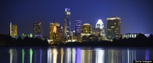 Austin Texas USA  getting Google's Fiber networkGoogle Fiber 100 times faster than the average American Internet connection
