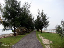 Semakau Island, Singapore<br/>Island made entire of landfills, now an eco tourism spot.