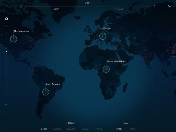 iOS, Urban World app read more: https://itunes.apple.com/us/app/urban-world/id600995019?mt=8
